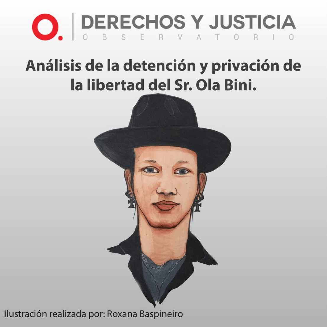 Analysis of the detention and deprivation of liberty of Ola Bini by the Observatorio de Derechos y Justicia